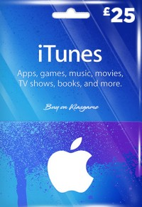 iTunes 25 GBP Gift Card