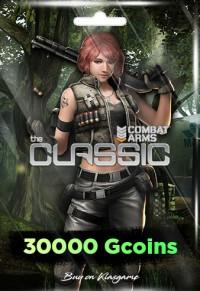 Combat Arms 30000 Gcoins + 12000 Bonus