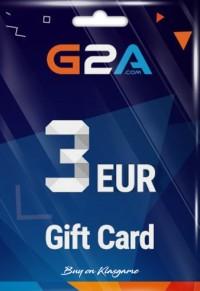 3 Euro G2A Gift Card