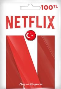 Netflix Hediye Kartı 100 TL