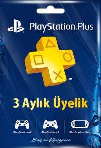 PlayStation Plus 3 Aylık Üyelik (TR)