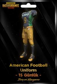 American Football Uniform (15 Days)