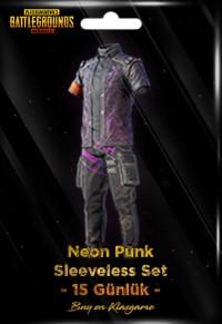 Neon Punk Sleeveless Set (15 Days)
