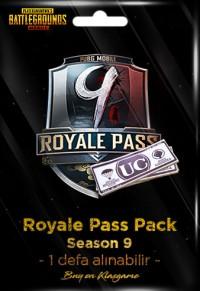 Royale Pass Pack (Season 9) - Her üyeliğe 1 defa alınabilir