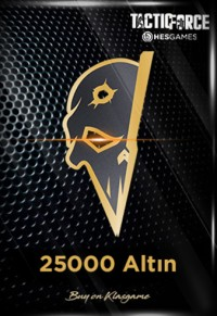 Tactic Force 25000 + 1500 Altın