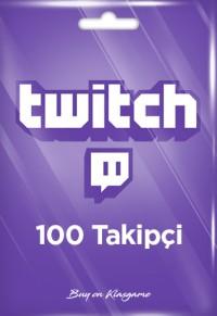 Twitch 100 Takipçi