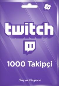 KAMPANYALI ÜRÜN-Twitch 1000 Takipçi
