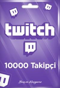 Twitch 10000 Takipçi