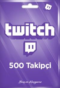 Twitch 500 Takipçi