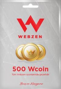 Webzen 500 Wcoin