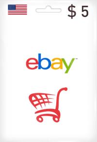 eBay Gift Card 5$