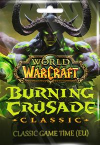 World of Warcraft Burning Crusade Classic 60 Days Game Time (EU)