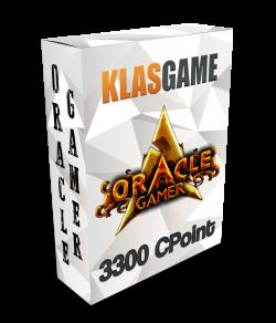 OracleGamer 2500 CPoint + 550 Bonus + (Oracle Özel Bonus + 250 )
