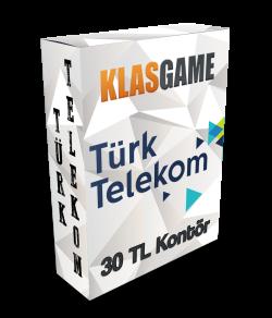 TürkTelekom 30 TL (Kartkontör)