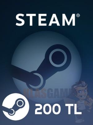 200 TL Steam Cüzdan