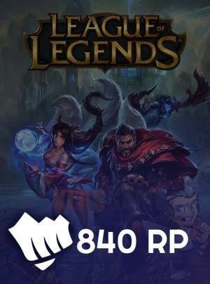 840 Riot Points (LOL)