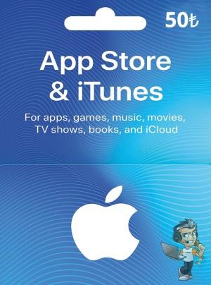 Apple Store 50 TL Bakiye
