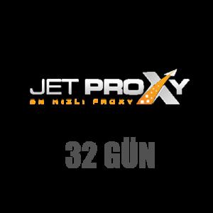 Jetproxy 32 Günlük (Steamda Çalışmaz)