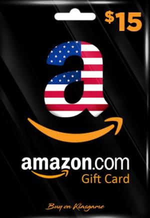 Amazon US Gift Card 15$
