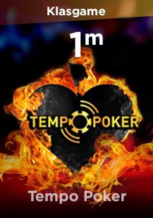 Tempo Poker 1M Chip