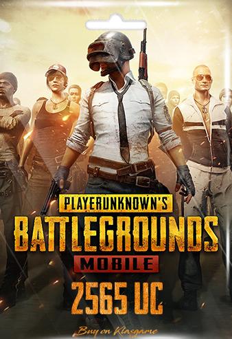 Pubg Mobile 2565 UC