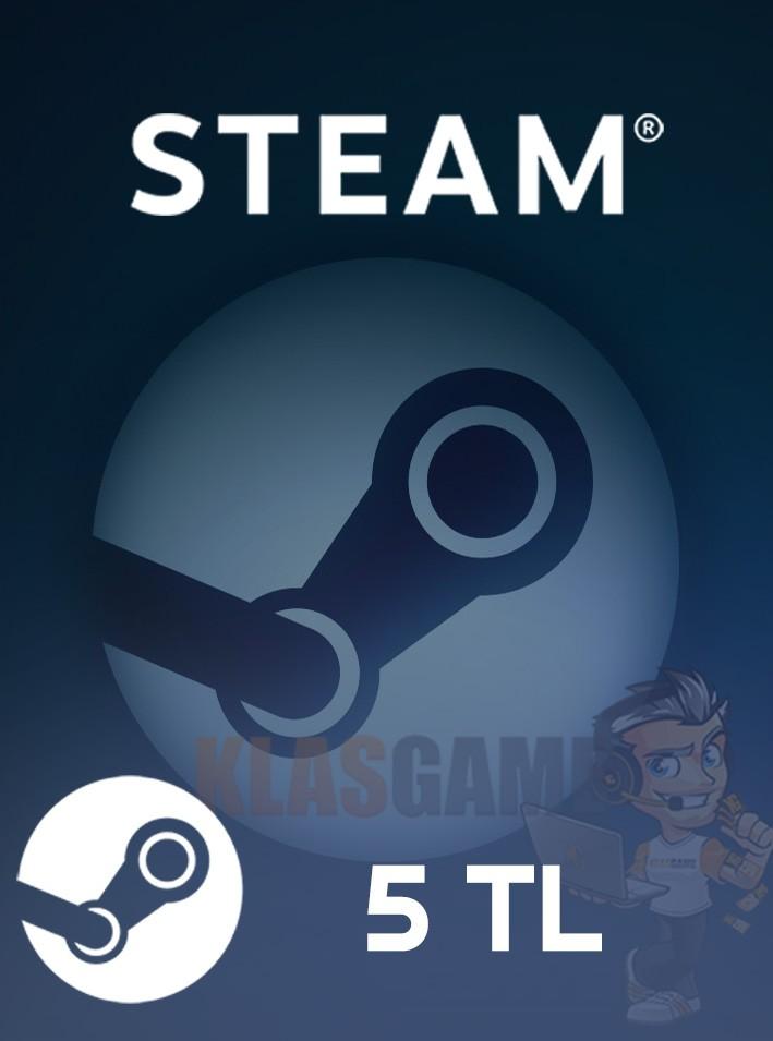 5 TL Steam Cüzdan