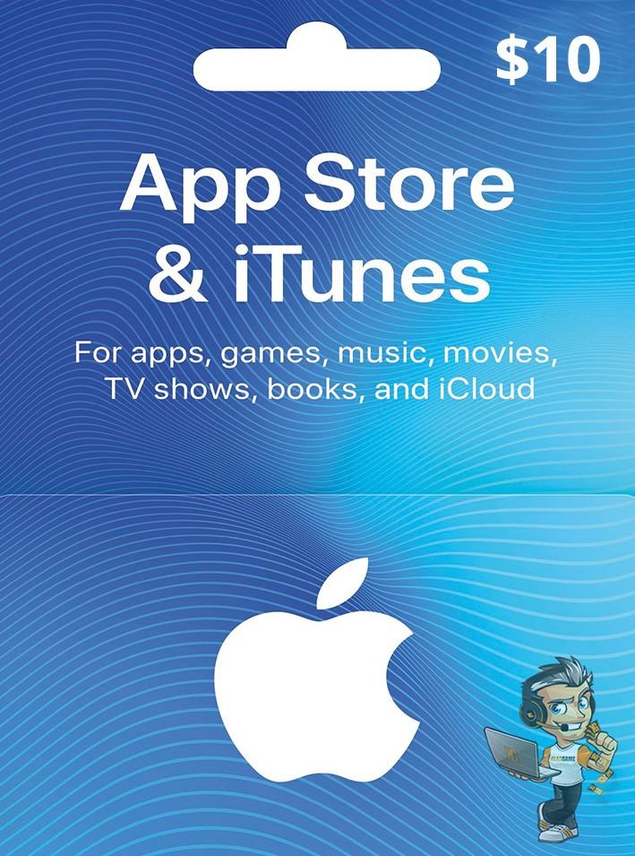 Apple Store 10 USD