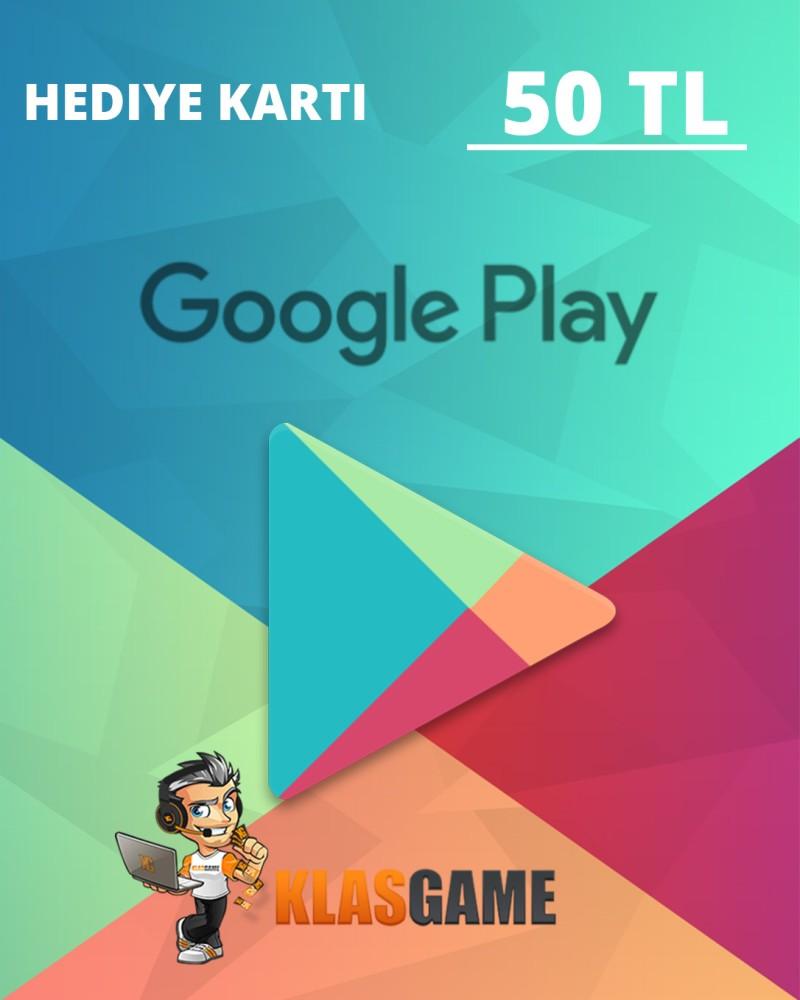 Google Play 50 TL