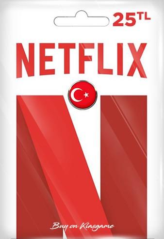Netflix Hediye Kartı 25 TL