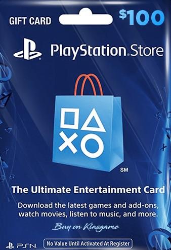 PlayStation PSN Card 100 USD