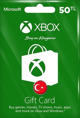 Xbox Live Hediye Kartı 100 TL