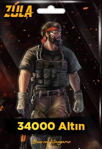 34.000 Zula Altını