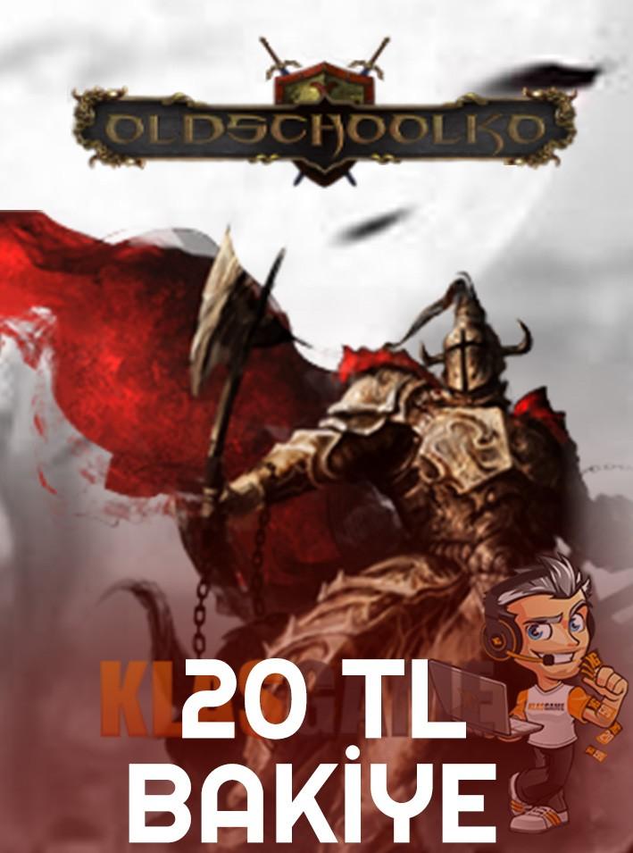 Oldschoolko 20 TL