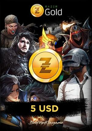 Razer Gold Global 5 USD