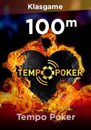 Tempo Poker 100M Chip