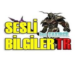 SesliBilgilerTR