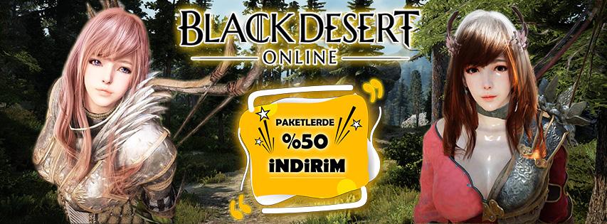 Black Desert Online Paket indirimi