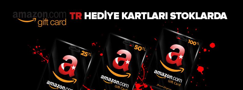 Amazon TR Hediye Kartları
