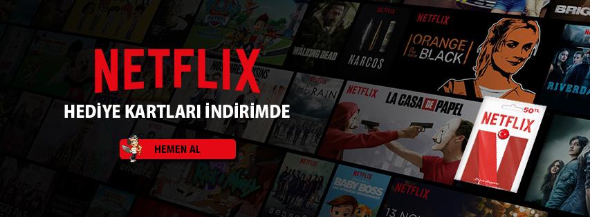 Netflix Hediye Kartları İndirimde