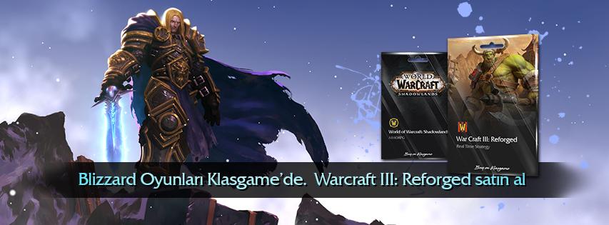 Blizzard Oyunları - Warcraft 3 Reforged