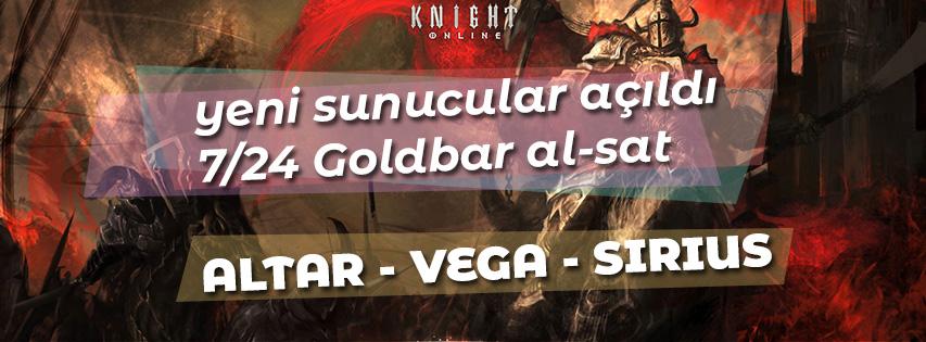 Knight Online Yeni Server GB al