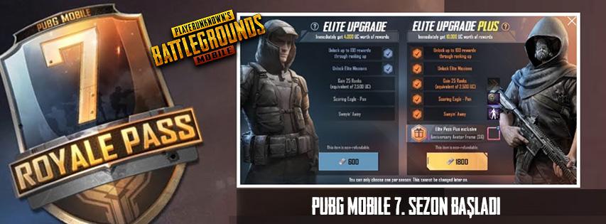 PUBG Mobile Sezon 7
