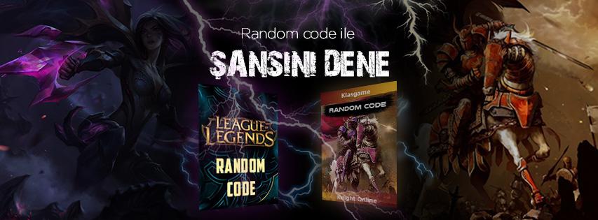 Random Code Etkinliği